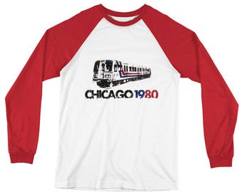Chicago West Loop 1980 Long sleeve