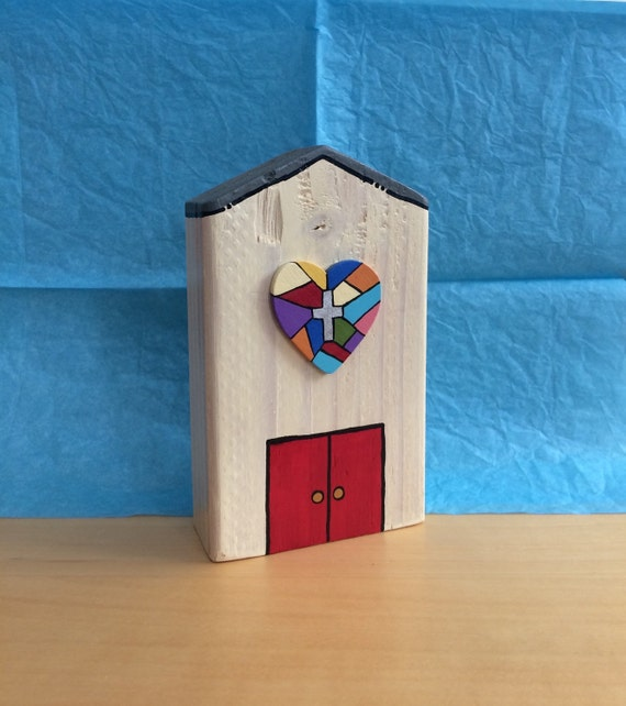 Wooden Church Personalized Special Occasion Gift Idea