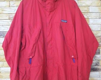 Vintage patagonia outdoors hoodies jacket medium size