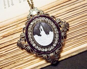 Victorian Castle Necklace