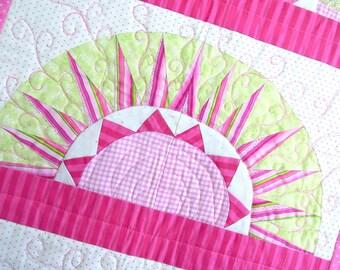 New York Beauty Quilt Pattern: Kokomo Sunrise