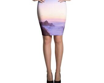 Pencil Skirt Carricitos Sunset