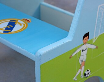Sports theme baby etsy sports theme nursery real madrid baby kids soccer soccer gifts for boys negle Image collections