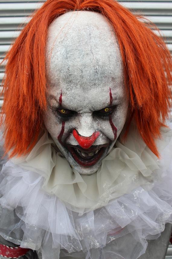 halloween haunted house prop child eater clown