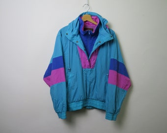 EDDIE BAUER 90s windbreaker jacket