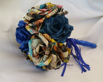 Doctor Who Comic Book Bouquet