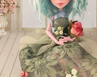 Monster High OOAK/ Custom Repaint Doll/ Romantic Doll, Gift