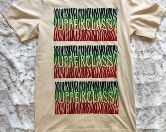 Upperclass Rainbow Stack Woodcut