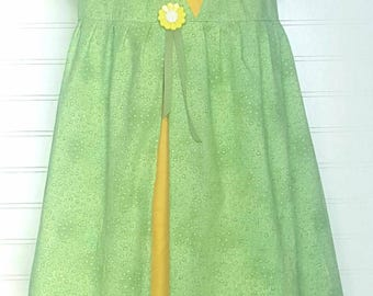 TIANA Frog Princess Inspired Princess Play Dress Size 3 6 9 12 18 Months 2 3 4 5 6