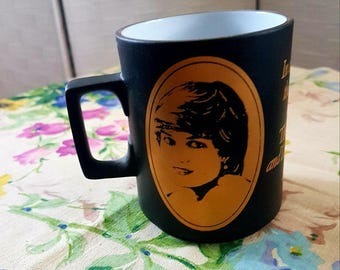 Charles & Diana Royal Wedding Commemorative Mug/Cup by Hornsea Pottery 1981