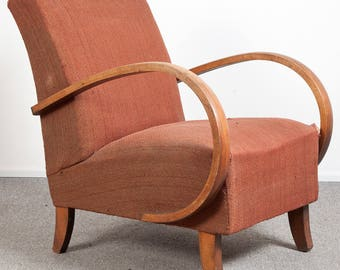 Czech vintage armchair from the 50's. DYW Item, restoration needed.