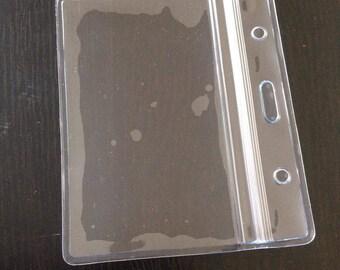 20 Zipper Pouch ID card money holder lanyard