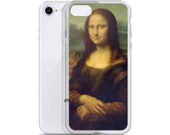Mona Lisa, Leonardo da Vinci - iPhone Case