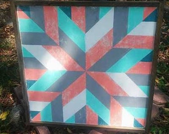 "18"" Custom, Hand-Painted Barn Quilt Blocks"