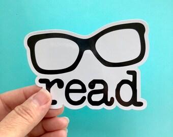 read die cut sticker