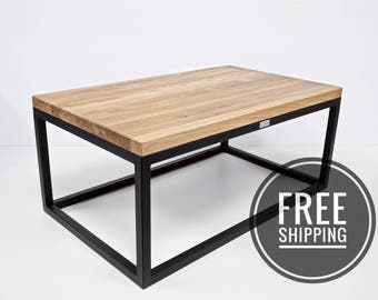 Industrial Coffee Table, Loft Design Coffee Table