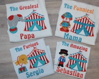 Family circus shirts