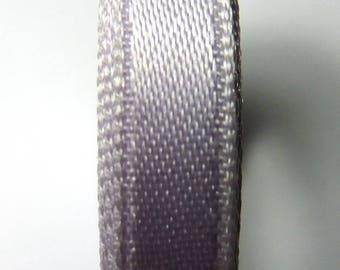 9 mm 5 meters Lavender satin ribbon clear 6B