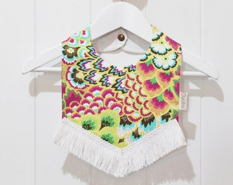 Baby Bib Pattern - Oopsidaisi - Bohemian Baby BOHO - Bib SEWING Pattern - PDF - Template - Tutorial - Instant Download
