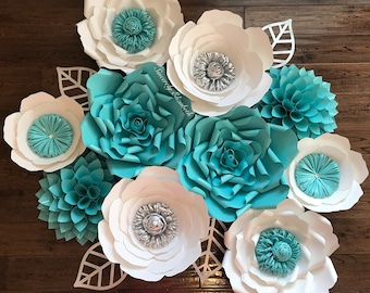 Baby and Co. Quinceañera Decor, Paper Flowers