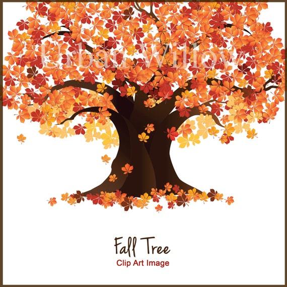 tree clip art fall trees autumn tree clipart maple tree rh etsy com Autumn Nature Clip Art autumn tree clipart png