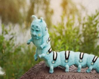 Blue Caterpillar - Alice in Wonderland figure -