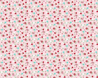 A Little Sweetness Pink Floral - C6512-PINK by Tasha Noel for Riley Blake Designs