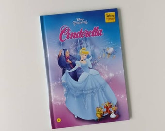 Cinderella Notebook - Handmade Disney Notebook