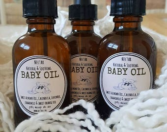 BABY OIL natural & soothing