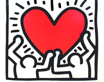 Keith Haring-Unitled (1988)-1995 Poster