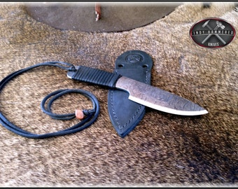 Hand Forged Neck Knife