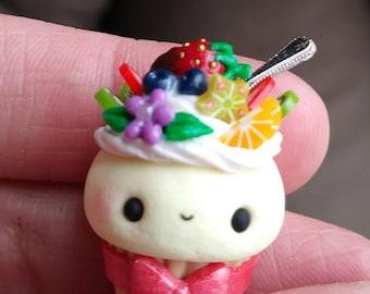 Sweet Fruit Tart Kawaii Cupcake