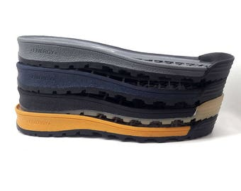 Sole Men - Soles for felted and leather Men shoes - Outsole unisex footwear Rubber Soles for sneakers and shoes Shoe soles for felted boots