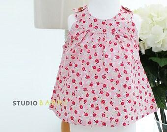 264 Camilla Blouse (6 - 24 months) PDF Sewing Pattern