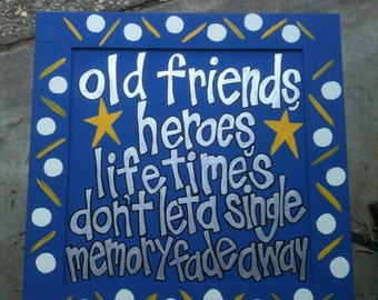 """Widespread Panic hand painted sign 'Heroes"""""""