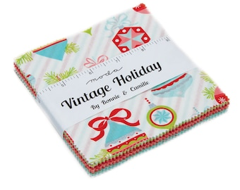 Bonnie And Camille - Vintage Holiday - Charm Pack - In Stock - 8 Remaining