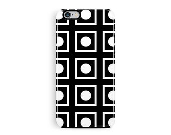 iPhone 7 Case, iPhone 7 Plus, Squares Phone Case, Minimalist iPhone Cases, Protective iPhone 7 Case, Tough iPhone 7 Case, Domino phone case