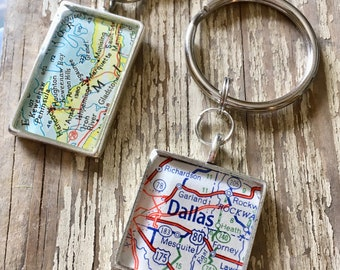 Map KeyRing Custom Order