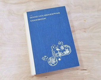 Mid Century Cookbook Good Housekeeping Cookbook 1963 Mid Century Kitchen Good Housekeeping Cook Book 1960's Cookbooks 1960's Kitchen Decor