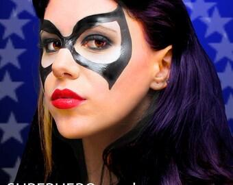 maquillage femme super heros