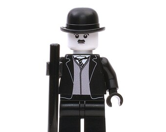 Charlie Chaplin - Custom Minifigure