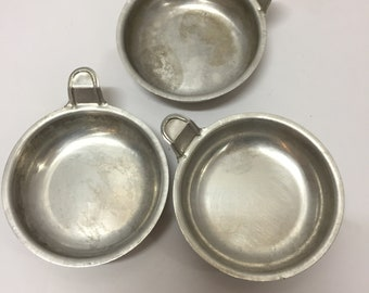 set of 3 egg poacher cups