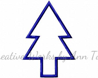 Dippy Pines Tree Applique