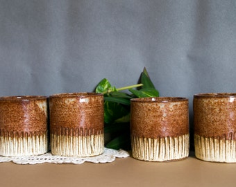 ceramic cup set,set of 4, coffee cup, ceramic coffee mug, ceramic espresso cup, ceramic wine glass, ceramic tea cup set, pottery mug