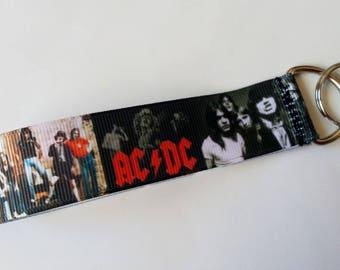 ♥ Key strap group AC/DC rock metal ♥ ♥ ♥