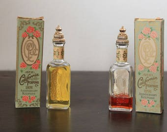 Vintage Avon California Perfume - 1976 Keepsake Parfum | Vintage Fragrance Perfumes | Avon Collectible | 1.7 Fl. Oz. | Cotillion Cologne
