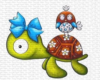 Cute Friends Digital Stamp by Sasayaki Glitter