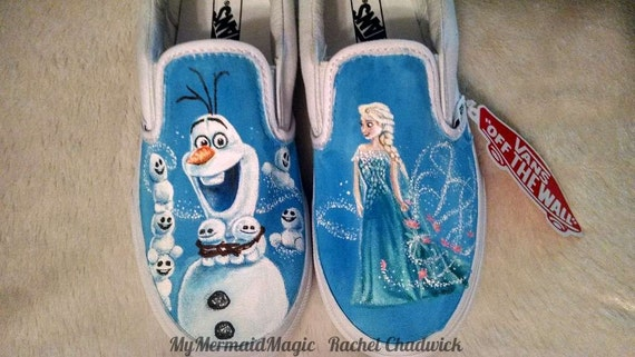 vans frozen shoes