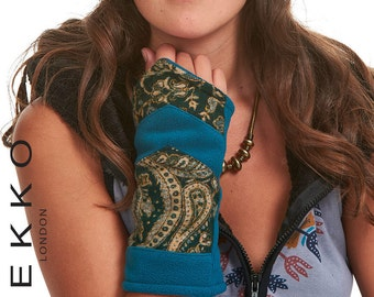 ARM WARMERS, ASSORTEd colours, wrist warmers, fingerless gloves, cyclist gloves, sleeves, HIPPy GLOVEs, Fswwos