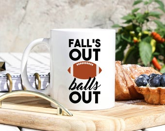 Football Coffee Mug - Football Gifts - Football Coach Gifts - Football Player Gifts - Football Fan Gifts - Football Season Gifts Husband Mug